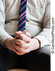 祈ること, 人