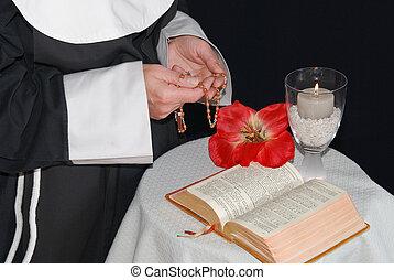 祈ること, 修道女