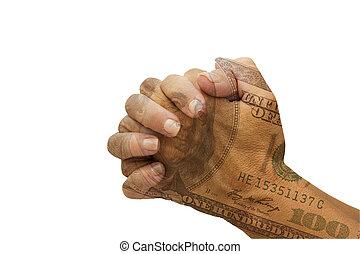祈ること, 助け, 財政