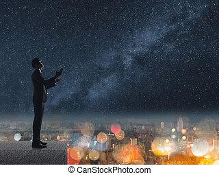 祈ること, 夜