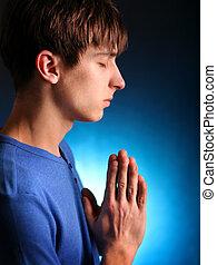祈ること, 若者
