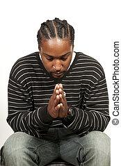 祈ること, 黒い 人