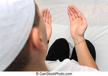 祈ること, muslim, 人