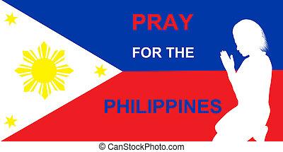 祈る, フィリピン