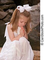 祈る, 私