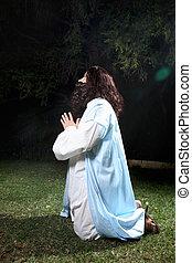 祈禱, 在, 時代, ......的, 麻煩