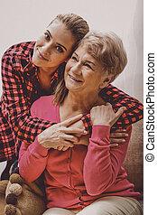 祖母, 債券, 家族