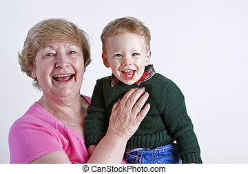 祖母, 孫