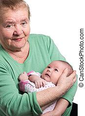 祖母, 新生, 保有物の赤ん坊