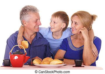 祖父母, 子供