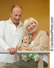 祖父母, 彼の, 孫