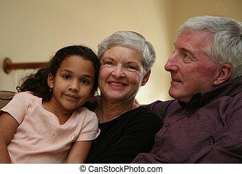 祖父母, grandaughter