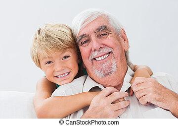 祖父, 孫