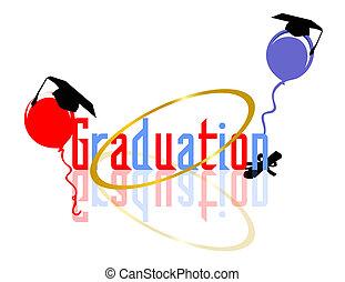 祝う, 卒業