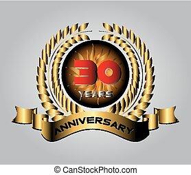 祝う, 30, 年, 記念日