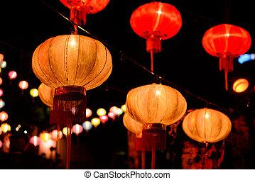 祝祭, 新しい, 中国語, 年