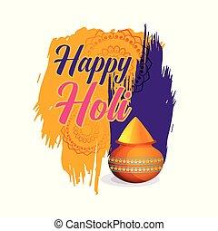 祝祭, 色, 背景, holi, 幸せ