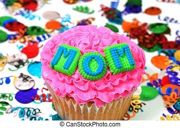祝福, -, お母さん, cupcake