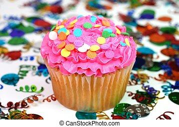 祝福, cupcake