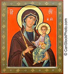 神の母, イエス・キリスト