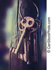 神祕, 鑰匙