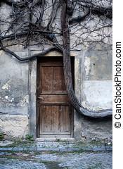 神秘的, ドア