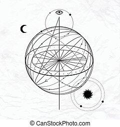 神秘的, 神秘主義者, 抽象的, 印
