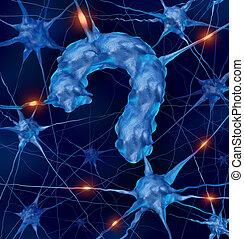 神経学, 質問