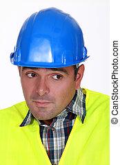 神経質, 建築作業員