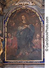 神聖な聖母マリア