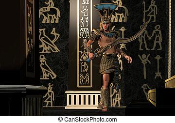神, さそり, エジプト人