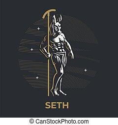 神, エジプト人, seth.