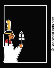 神, ベクトル, エジプト人