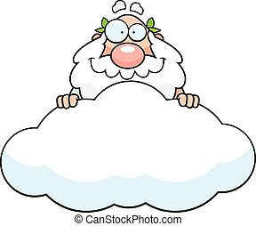 神, 漫画, 雲