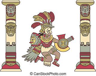 神, aztec, コラム, ∥間に∥