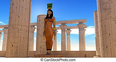 神, hathor, エジプト人
