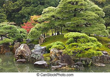 禅, 日本の庭