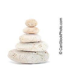 禅, 石, 白