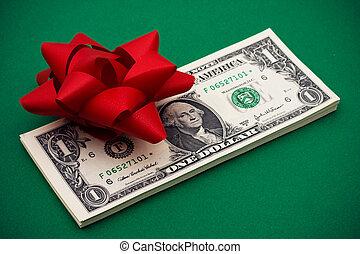 禮物, 錢