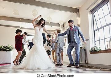 私達の, ダンス, 日, 結婚式