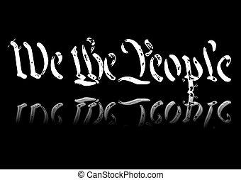 私達, 人々
