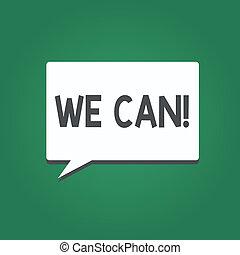 私達, 仕事, ビジネス, can., 写真, 提示, 成功, 一緒に, 執筆, 結果, テキスト, 概念, 手, eyeing, ポジティブ, 目的を達しなさい
