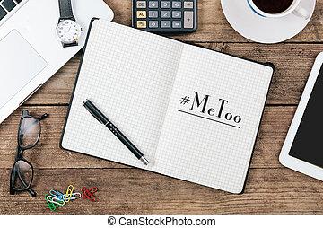 私, ノート, 日記, hashtag