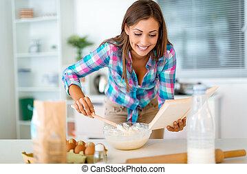 私, レシピ, これ, 秘密, ケーキ