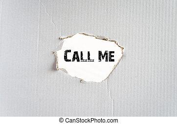私, 呼出し