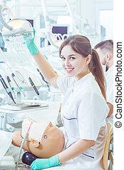私, 情熱, 歯科医術
