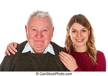 私, 愛, 祖父