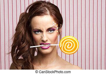 私, lollipop, that's