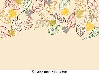 秋休暇, 背景