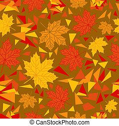 秋天, 圖案